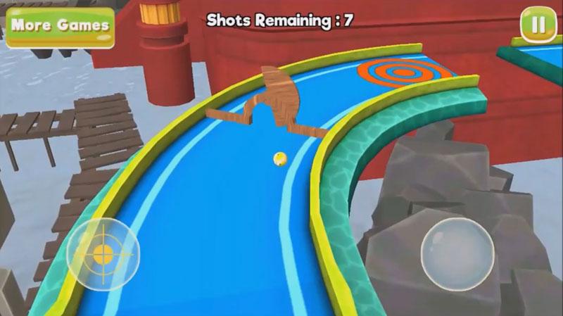 Mini Golf 3D City Stars на телефон