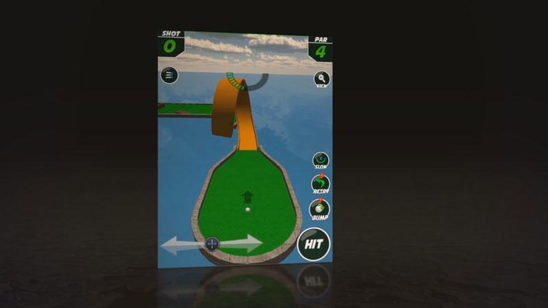 Mini Golf Stars: Retro Golf на телефон