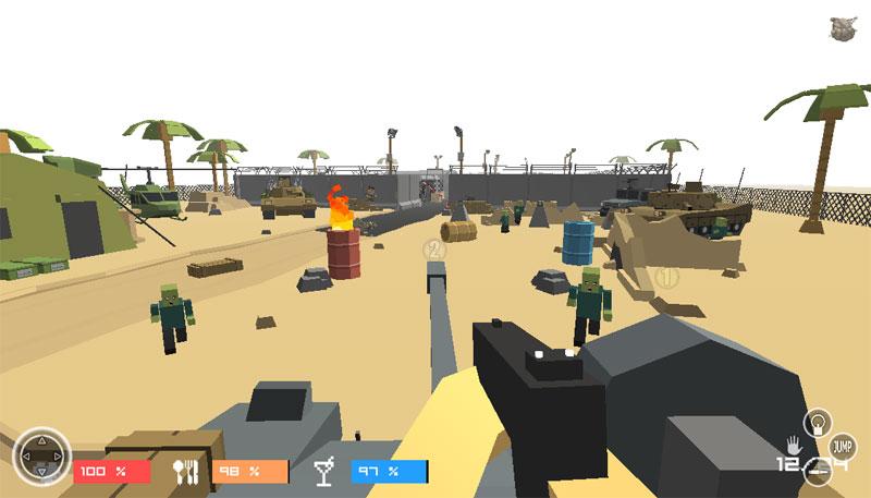 Pixel Zombies Hunter скачать