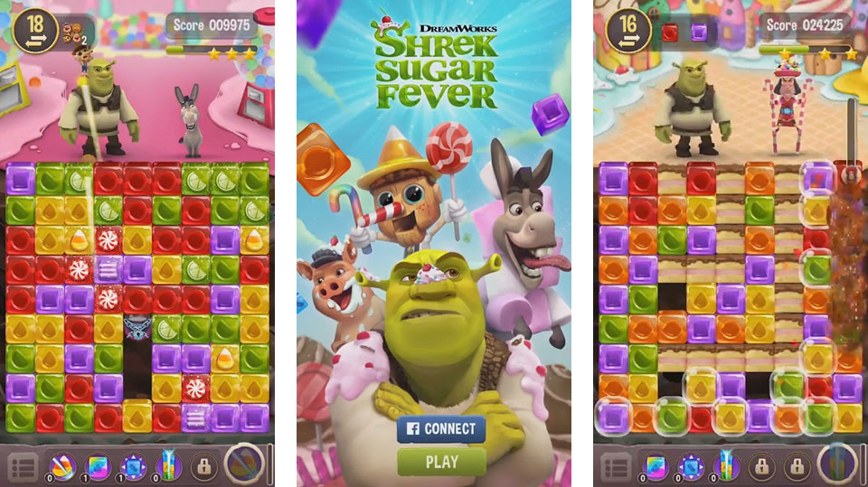 Shrek Sugar Fever на андроид