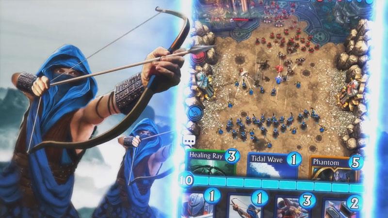 Siege: Titan Wars на андроид