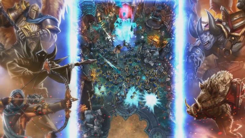 Siege: Titan Wars на телефон