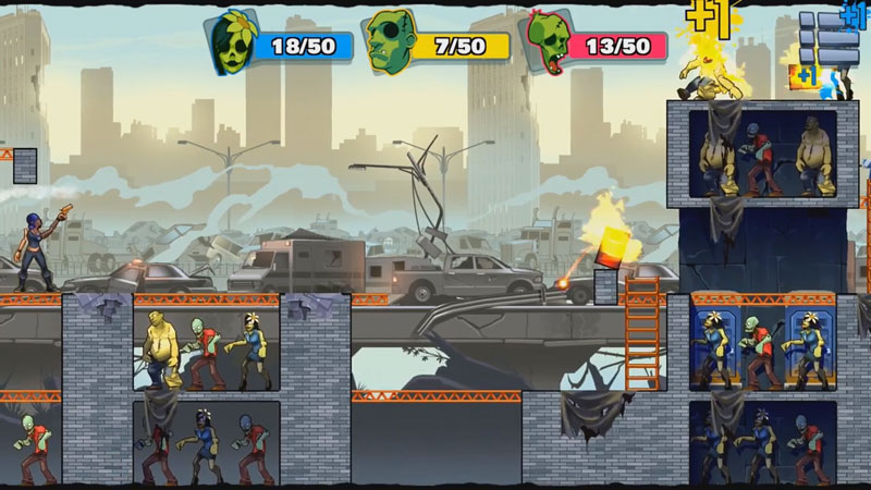 Stupid Zombies 3 на андроид