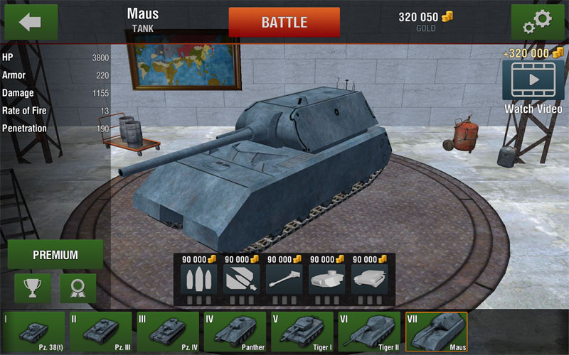 Tanks: Hard Armor 2 на андроид