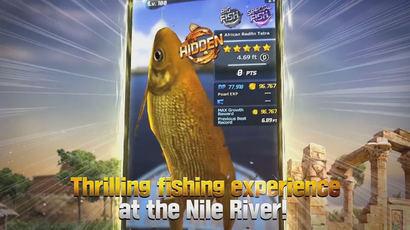 Улётный клёв: рыбалка в 3D на андроид