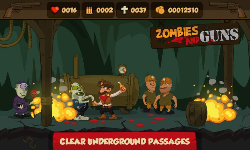 Zombies and Guns на андроид