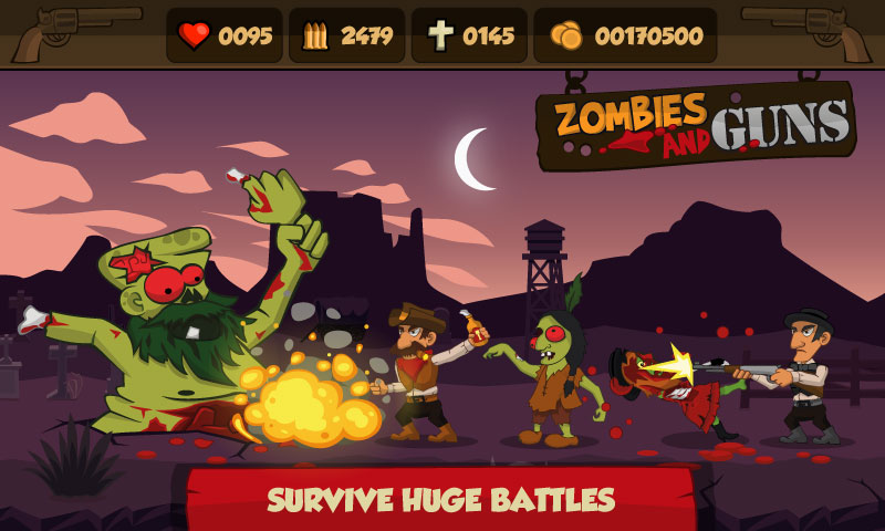 Zombies and Guns скачать