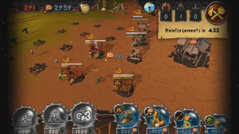 Боевые Башни: Война за власть на андроид