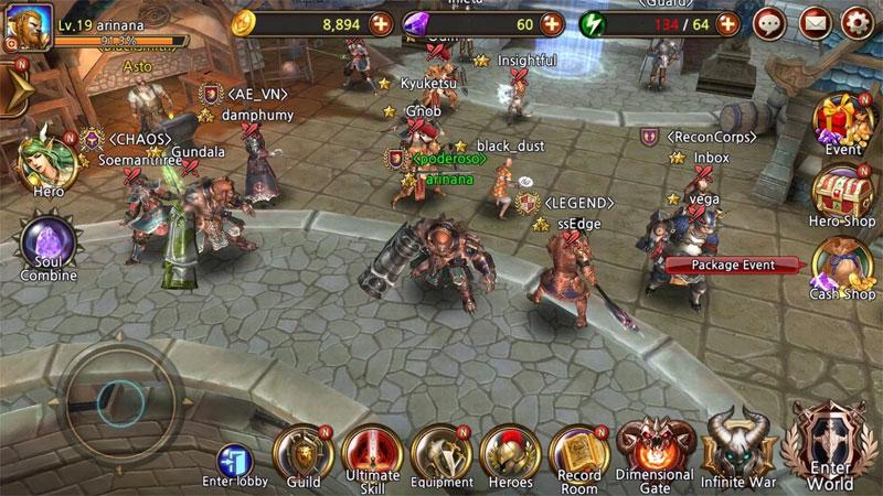 Team Guardian: Легенда о 23 героях скачать