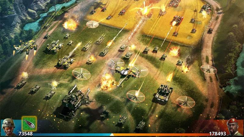 War Planet Online на телефон