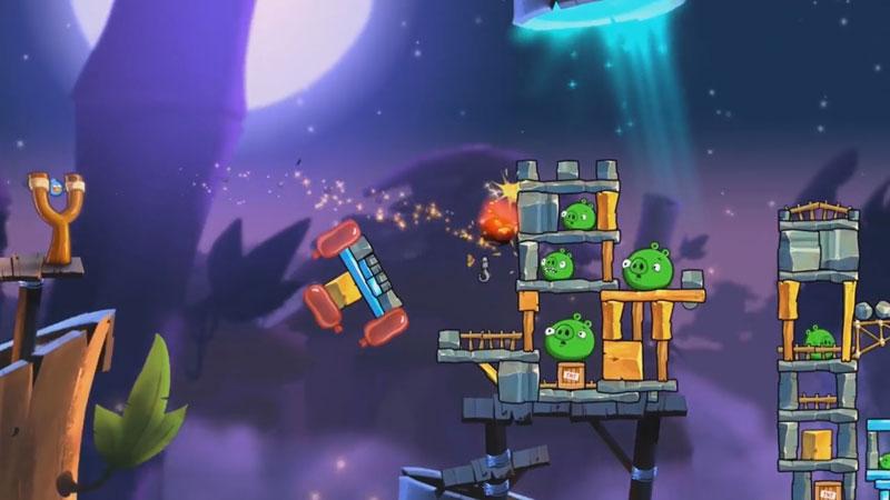 Angry Birds 2: Halloween на телефон