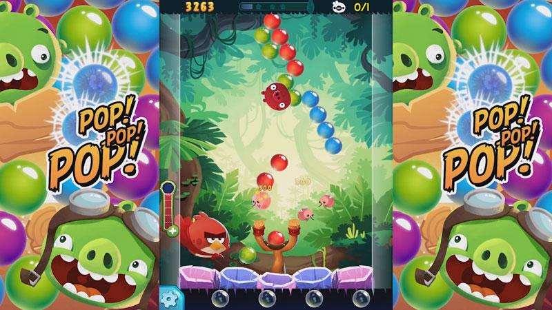 Angry Birds POP Bubble Shooter на андроид