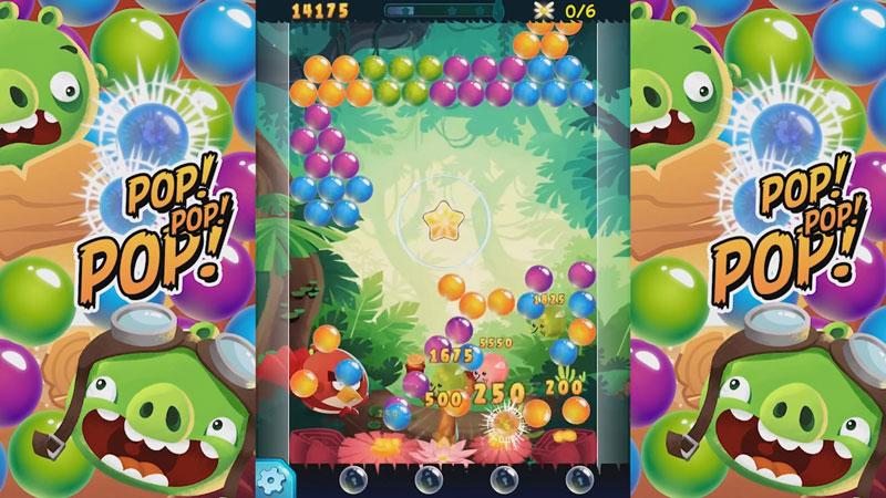 Angry Birds POP Bubble Shooter скачать