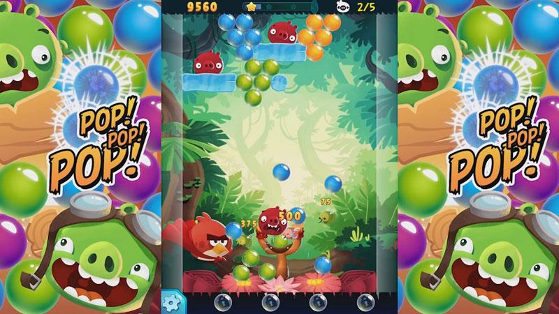 Angry Birds POP Bubble Shooter на телефон