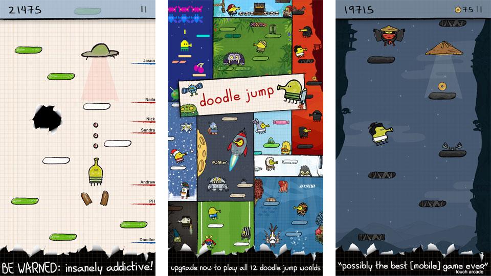 Doodle Jump: Осень на андроид
