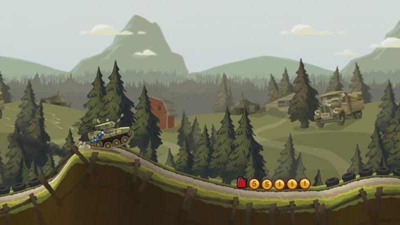 Hill Climb Racing 2: Хэллоуин скачать