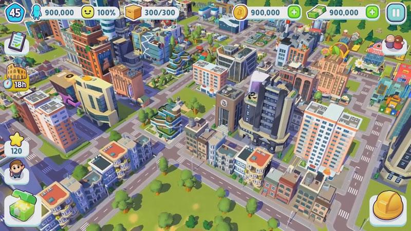 Ситимания: Строим Город на телефон