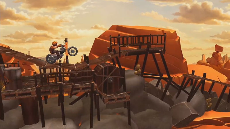 Trials Frontier: новая версия на телефон