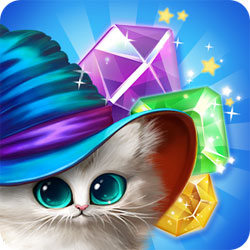 Волшебные коты: три в ряд