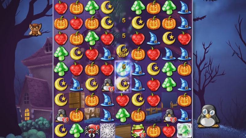 Witch Puzzle на телефон