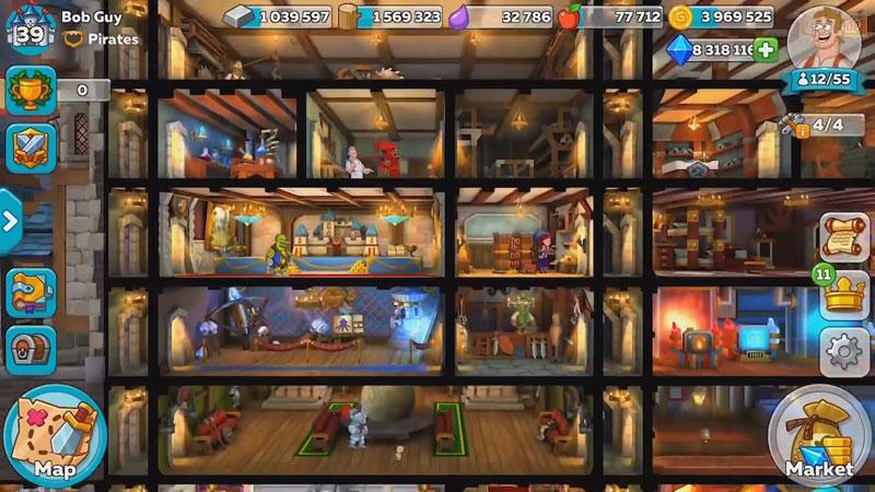 Hustle Castle: Fantasy Kingdom на телефон
