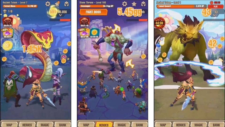 Juggernaut Champions на андроид