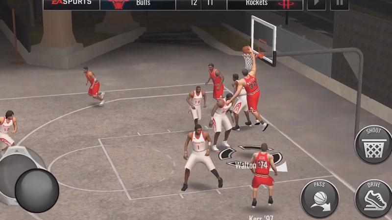 NBA - Баскетбол на телефон