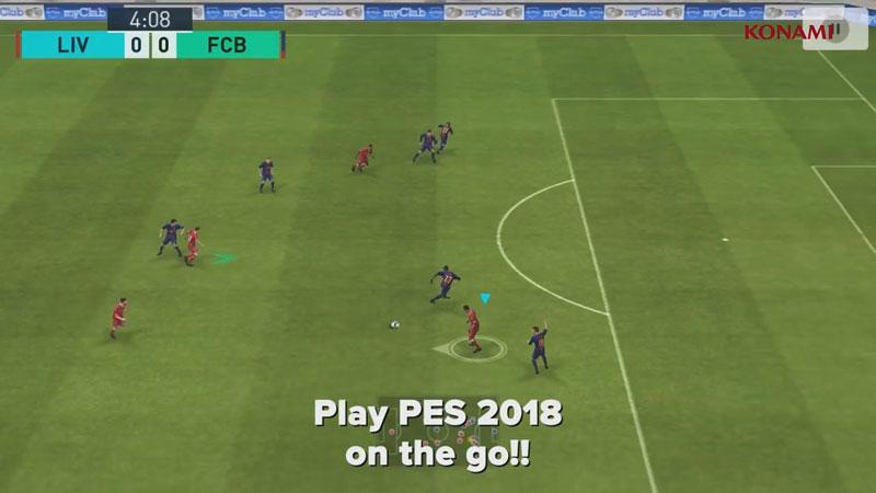 PES 2018 - Pro Evolution Soccer на телефон