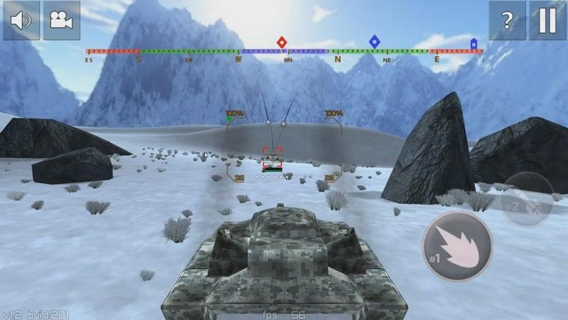 Tank Combat: Future Battles на андроид