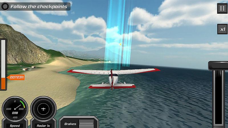 Бесплатный 3D-авиасимулятор на андроид