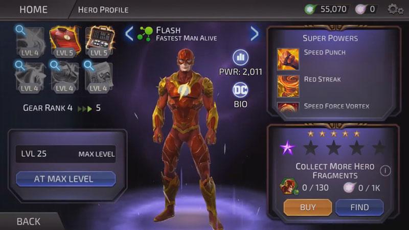 DC Legends: Битва за справедливость на андроид