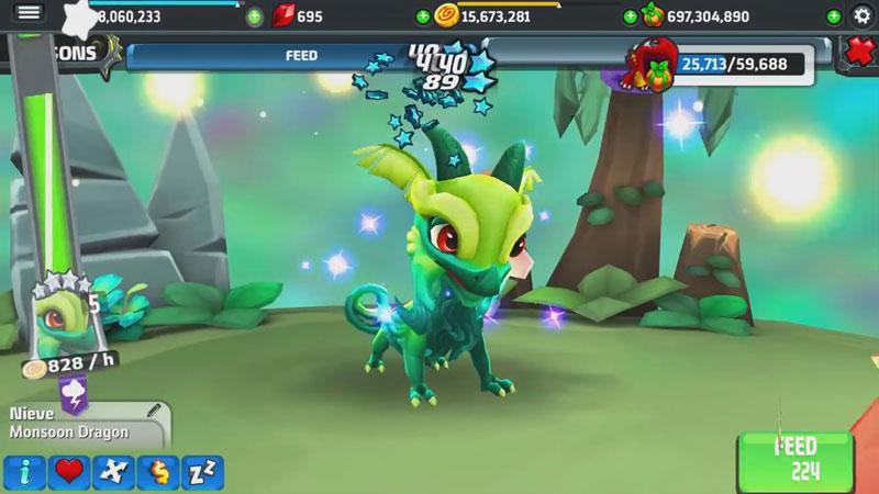 DragonVale World на андроид
