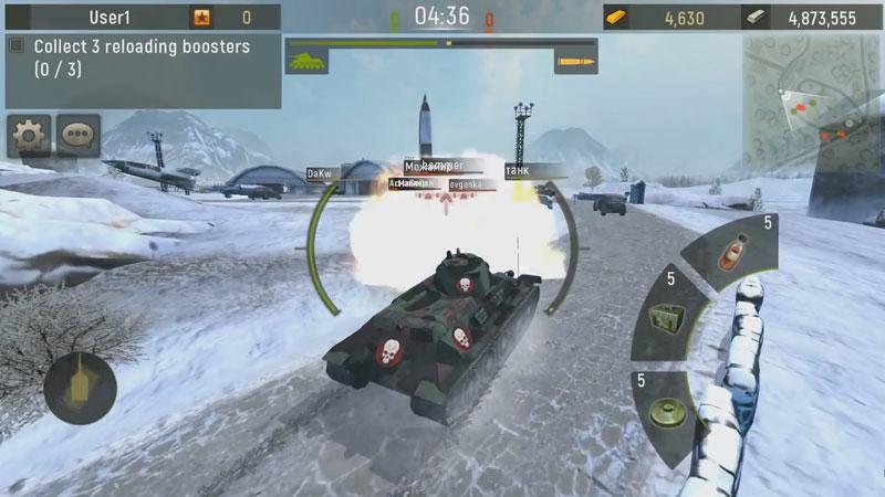 Grand Tanks: Онлайн Игра на андроид