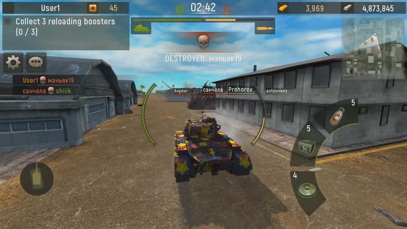 Grand Tanks: Онлайн Игра на телефон