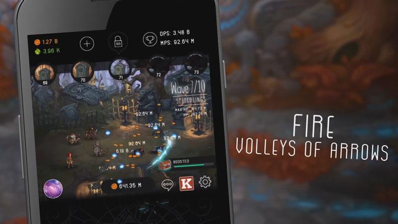 Tap Adventure: Time Travel на андроид