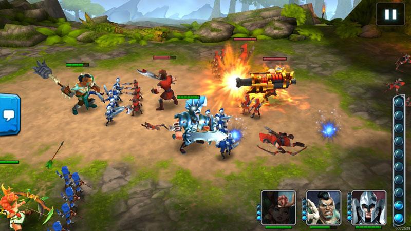 Wartide: Heroes of Atlantis на андроид