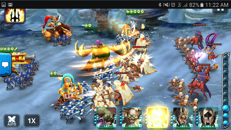 Wartide: Heroes of Atlantis на телефон