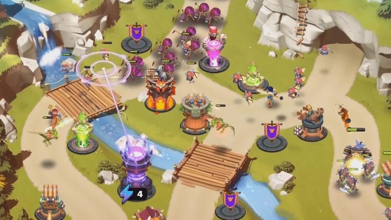 Башни и чудовища на андроид