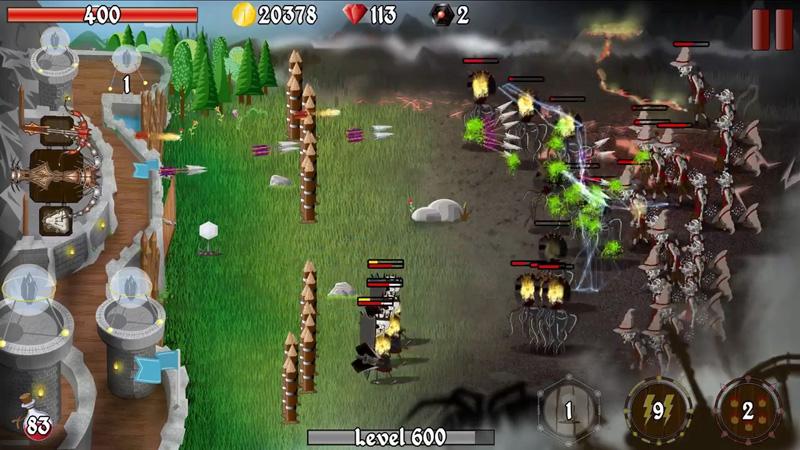 Grim Defender – Защита замка и башен на андроид