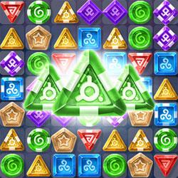 Магия и сокровища: три в ряд