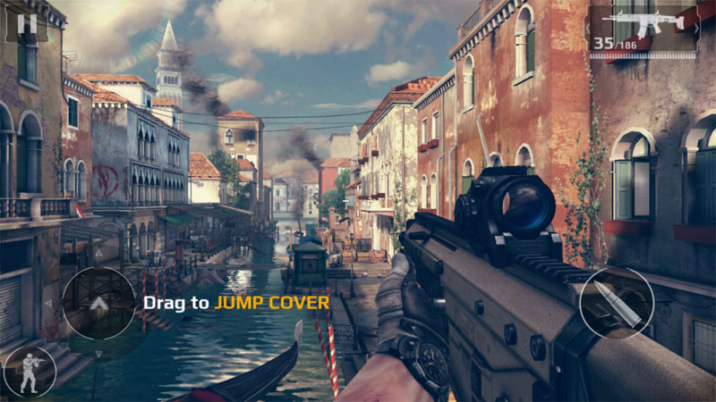 Modern Combat 5: eSports FPS на андроид