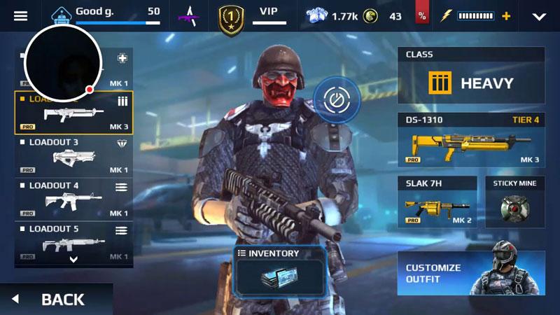 Modern Combat 5: eSports FPS скачать