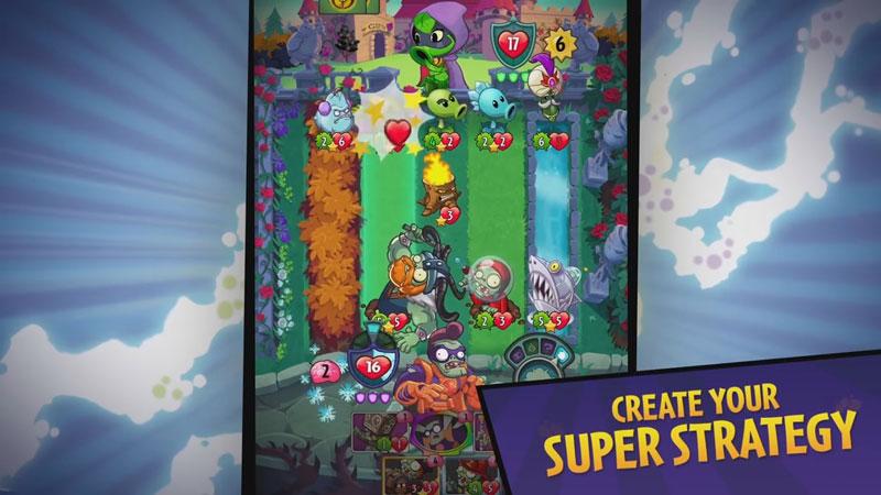 Plants vs. Zombies: Heroes на андроид