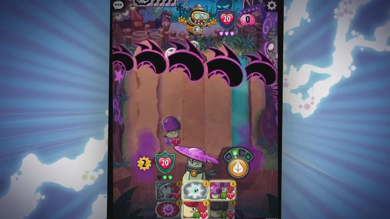 Plants vs. Zombies: Heroes на телефон