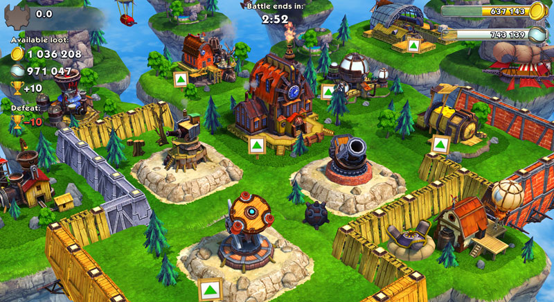 Sky Clash: Lords of Clans скачать