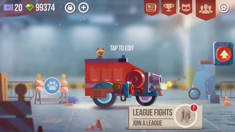 Crash Arena Turbo Stars на андроид