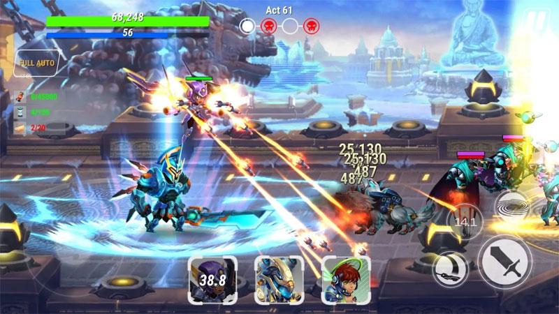 Heroes Infinity: Future Fight на андроид