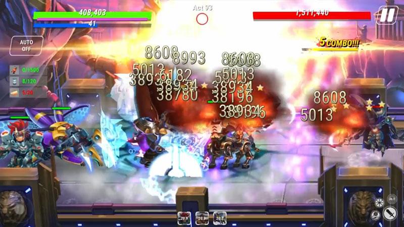 Heroes Infinity: Future Fight скачать