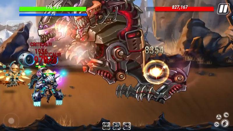 Heroes Infinity: Future Fight на телефон