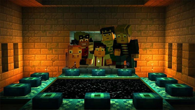 Minecraft: Story Mode на телефон